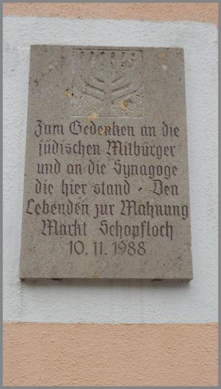 Bildergebnis für gedenktafel synagoge