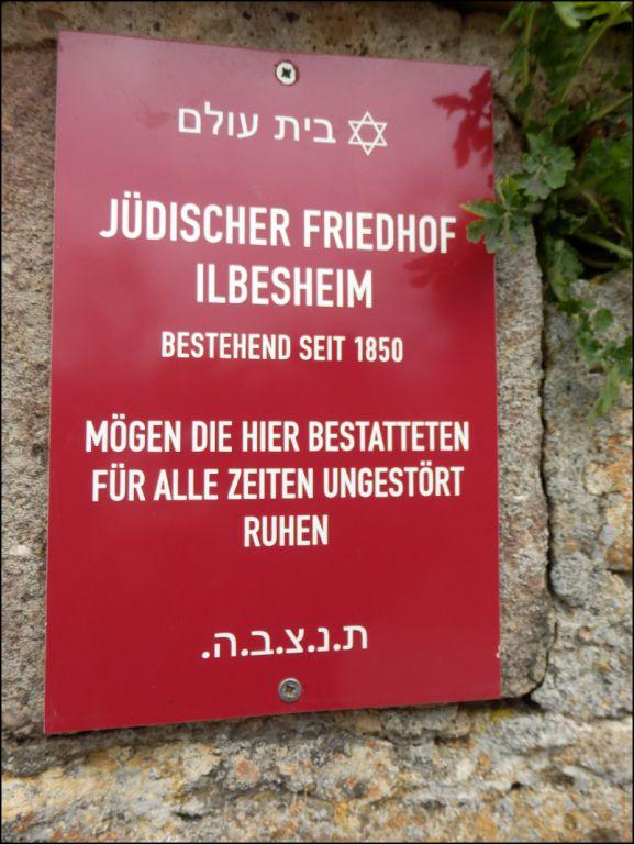 Der Friedhof in Ilbesheim - Jüdische Friedhöfe in Deutschland und ...